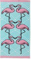 OUTDOOR OASIS Outdoor OasisTM Flamingo Beach Towel