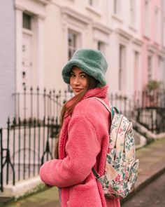 """Cath Kidston on Instagram: """"Extra room for new adventures. 🌺🎒 Where will our Twilight Garden Backpack take you in 2020? @alexincolour #CathKidston #theLeap"""" Winter Hats, Fall Winter, Autumn, Extra Rooms, Cath Kidston, New Adventures, Winter Style, Twilight, Winter Fashion"""