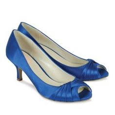 Pinkparadoxshoes.com Style Romantic blue satin