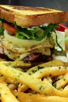 Try the infamous Four-Horsemen Challenge at Chunky's Burgers  More in San Antonio, Texas.