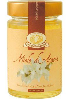 Acacia Honey / Miele di Acacia g 250 - 8.90 € inc. VAT / IVA Compresa