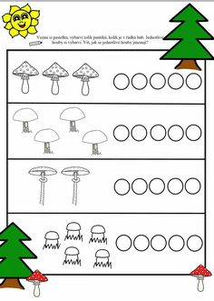 Cicely Mary Barker, Indoor Activities For Kids, Montessori, Kindergarten, Stuffed Mushrooms, Math, Arrows, Fall Season, Mushrooms