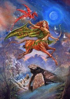 Legend of Rhiannon Greeting Card