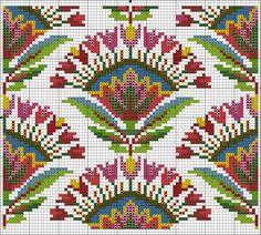 needlepoint or cross stitch Cross Stitch Borders, Cross Stitch Samplers, Cross Stitch Flowers, Cross Stitch Designs, Cross Stitching, Cross Stitch Patterns, Diy Embroidery, Cross Stitch Embroidery, Embroidery Patterns
