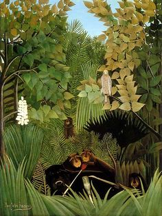 Henri Rousseau, The Merry Jesters, 1906