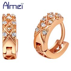 Find More Stud Earrings Information about Rose Gold/Platinum PlatedFashion Accessories Vintage Round R565 18pcsRhinestone for Woman Stud Earring  Factory Wholesale,High Quality accessories tattoo,China accessories children Suppliers, Cheap accessories purchase from Almei Jewelry Store on Aliexpress.com