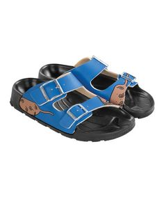 Take a look at this Blue Dog Haiti Slide - Women by Birki's on #zulily today!
