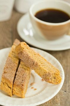 My favorite biscotti recipe has a cinnamon-sugar twist. Perfect for your coffee break dessert or afternoon treat! My favorite biscotti recipe has a cinnamon-sugar twist. Perfect for your coffee break dessert or afternoon treat! Tea Cakes, Shortbread, Scones, Cookie Recipes, Dessert Recipes, Dessert Food, Cookie Ideas, Dessert Ideas, Biscotti Cookies