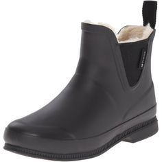 Tretorn Women's EVA Classic Winter Rain Shoe (120 CAD) ❤ liked on Polyvore featuring shoes, boots, ankle booties, vinyl boots, rubber boots, tretorn, tretorn boots and rain boots