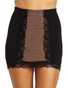 Felina Womens Glam Control 12 Slip Black Medium *** Learn more by visiting the image link.