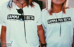 we ain't ever getting (over that song or) older    Gamma Phi Beta   Made by University Tees   universitytees.com