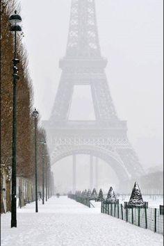 EIFFEL TOWER WINTER
