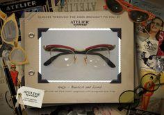 1940's www.ateliereyewear.com #glasses #style #luxury