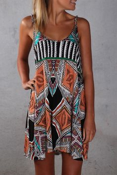 African Dream Dress Multi - so many cute beachy lines in Aus <3