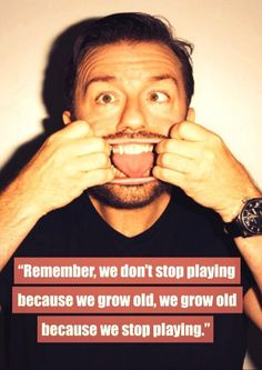 Ricky Gervais is one of my comedy heroes of all time! He is so witty and clever, and each of his TV shows are absolutely brilliant! I also have a Ricky Gervais fan account!
