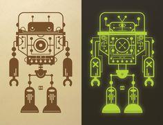 Glowbot by Bryan Fyffe  Also known as Fyffo