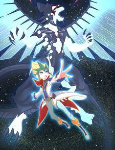 Kaito Tenjo and Galaxy Eyes Photon Dragon