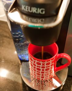 one cup coffee makers. YES.