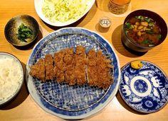 Pigging out: The tonkatsu teishoku set at Butagumi Dining.