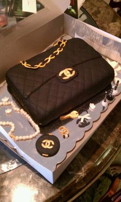 Purse cake. One of my favorites