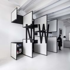 Shop 03 / i29 interior architects. Not functional but meaningful attempt. Inspiring.