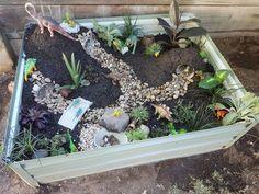 Dinosaur adventure garden :)
