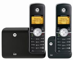 Motorola DECT 6.0 Cordless Phone with 2 Handsets (L302) by Motorola. $34.97. The Motorola L302 DECT 6.0 cordless phones with stylish handset, great value. Features include: Interference free digital technology,3-line backlit display, clock, and call waiting caller ID. The cordless phone requires only one phone jack and has a range of up to 160 feet indoors and 980 feet outdoors.. Save 30%!