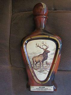 "Vintage James Lockhart Jim Beam Bottle Decanter ""The Elk"" Empty | eBay"