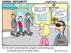 christian comics and cartoons Christian Comics, Christian Cartoons, Christian Jokes, Christian Life, Cristo Vivo, Bible Humor, Psalm 91, Prayer Warrior, Bible Verses Quotes