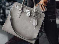 Michael Kors, grey handbag