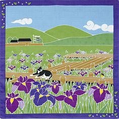 Furoshiki Smallsize Japanese Wrapping Cloth Travelingcat Cat Japanese Iris May >>> Click on the image for additional details.