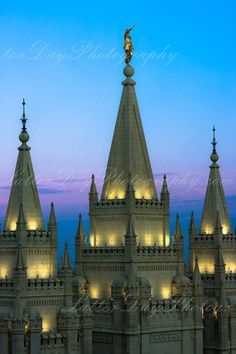 Salt Lake City Temple  Fine Art by LatterDayPhotography on Etsy, $29.99 Niel Hayes