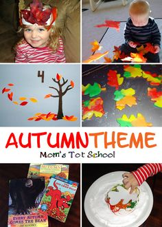 Autumn Crafts and Activities!