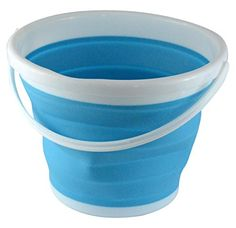 Southern Homewares Foldable Silicone Collapsible Bucket, ... https://www.amazon.com/dp/B017IG5SVO/ref=cm_sw_r_pi_dp_x_fvXJzbHM5Z44X