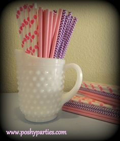 SALE-Princess Theme Paper Straws 25ct-Princess Birthday-Princess Party-Paper Straws