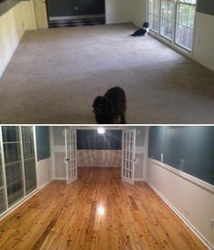 peking antique bamboo upgrade i removed old carpeting and
