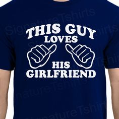 Wedding Gift This Guy Loves His Wife Mens T-shirt shirt tshirt Family Anniversary Valentines Day Funny Marriage womens husband on Etsy, Papa Shirts, Family Shirts, Tee Shirts, My Funny Valentine, American Apparel, Marriage Humor, Married Life, Married Man, Love And Marriage