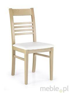Drewniane krzesło Juliusz, Halmar - Meble