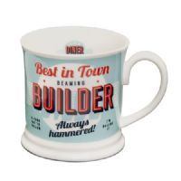 H & H Diner Style Mugs - Personalised Mugs - Builder History And Heraldry, Personalised Mugs, Retro Diner, Retro Design, Classic, Gifts, Style, Derby, Swag