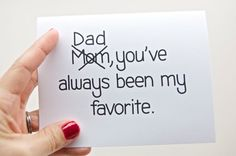 My favorite Father's Day Card on Cool Mom Picks