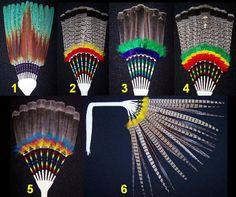 native+American+dance+fan | Powwow Feather Fans | Suite101