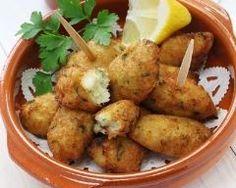 Croquettes de morue à la portugaise Ingrédients