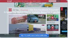 SocialBooster hier: http://1a.traffic-wave.de/SocialBooster