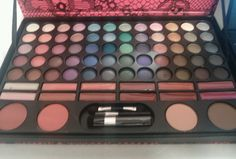 Make Up Cosmetics Ultimate Vanity Set by Profusion (Eye Shadow Blush & Lipstick) #Profusion