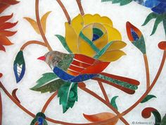 Must Buy: marble inlay in Agra, India | Artisans of Leisure's blog: luxury, culture, travel, food, style, design, art