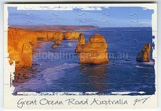 Great Ocean Road Australia        Jigsaw-Card 156