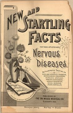 New and startling facts about nervous diseases