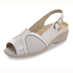 Sandalias de Piel Mabel Beige