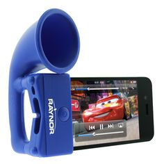This exact item is no longer available but we have several options just like it. What a cool #promotional item to make your company stand out. The Megaphone Speaker can boost an iPhone's sound by up to 2-3 times louder and does this without any power cords or batteries. http://newportpros.com