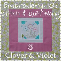 Clover & Violet — Embroidery 101